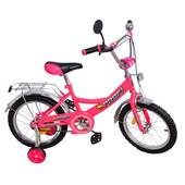Доставка! Гарантия! велосипед  от 2 лет, Profi Trike p1244a, колёса 12 дюймов,цвет розовый
