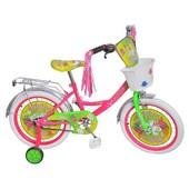 Доставка! гарантия! велосипед Profi Trike p1251f-w, колёса 12 дюймов, бабочка