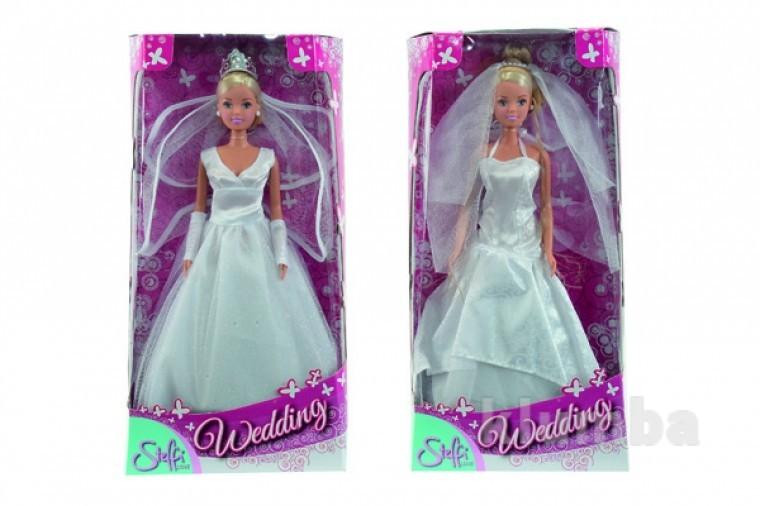 Лялька штеффі в весільному вбранні, 2 види, 3+ фото №1