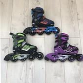 Раздвижные ролики для детей и взрослых отличного качества Zetra