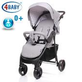 Детская коляска прогулочная 4baby - Rapid Premium 0+ (2 цвета)