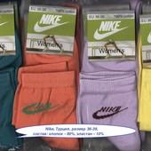 Носки женские Nike  деми спорт, х/б, средние, 36-39 р.