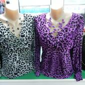 Новые блузки-кофточки L, XL