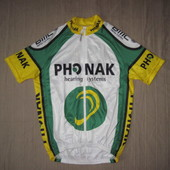 Phonak Cycling-Team (разм. S) велофутболка джерси мужская