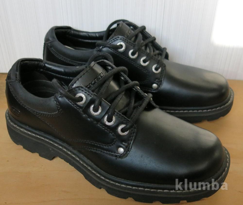 Продам новые кожаные туфли skechers, 40р фото №1