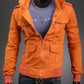 Коттоновая куртка 7015 на кнопках S, M (2з