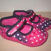 Текстильные тапочки Vi-gga-mi для девочки, Natalka тапки, домашние р. 18-27 вигами