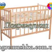 Деревянная кроватка для новорожденных КФ-1
