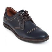 мужские туфли натуральная кожа Модель:  120ч