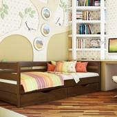 Деревянная детская, подростковая кровать «Нота»