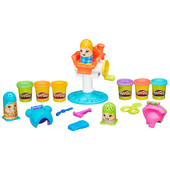+видео! оригинал! Игровой набор Play-Doh Сумасшедшие прически (в1155) плей до