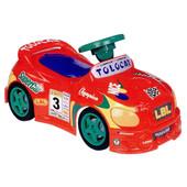 Каталка-толокар с музыкальным рулём, Kinderway Champion (11-001) Красный