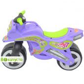 Доставка! Детская Каталка Kinderway Мотоцикл (11-006), цвет сиреневый