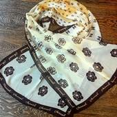 Шифоновый шарф, шарфик  шанель  Chanel