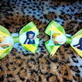 Яркие резинки бантики для малышек