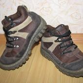 Замша ботинки черевики 35 р