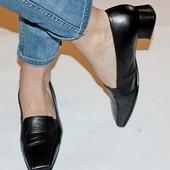 Туфли 38,5 р Gabor Германия кожа полная оригинал