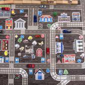 """Игра """"Идеальный город"""" - игра с машинками Трик-трек"""