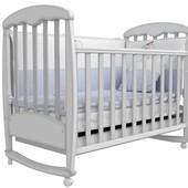 Детская кроватка Верес Соня ЛД1 патина белая 01.13