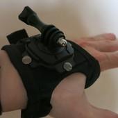 Крепление на кисть для камеры GoPro оригинал 360 Degree Glove Style