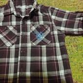 модная рубашка 1-2 года