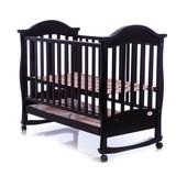 Детская кроватка Baby Care bc-411bc чёрный тёмный орех
