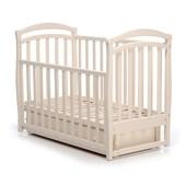 Детская кроватка Верес Соня ЛД6 маятник слоновая кость 06.04