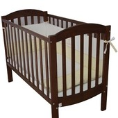 Детская кроватка Верес Соня ЛД10 орех