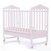 Детская кроватка Верес Соня ЛД11 белая Подсолнух 11.2.06