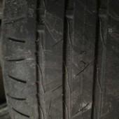 Летние шины nokian Hakka z, 4 штуки, остаток протектора 30%, стояли на Nissan xtrail,год выпуска 201