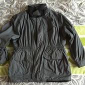 Серая куртка демисезонна