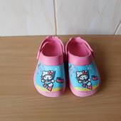 Кроксы Hello Kitty Ju Ju 7 р. 23 р.15,2 см