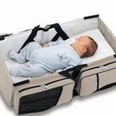 Сумка-кровать для путешествий с малышом Tomy Snugli