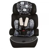 Надежное детское автокресло, 9-36 кг, Bambi M 2374, цвет Черный