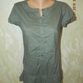 Натуральная блуза-туника benetton