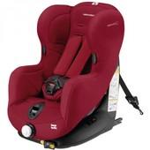 +видео! комфортное, качественное автокресло, 9-18 кг, Bebe сonfort Iseos Isofix Raspberry, цвет Red