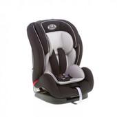 Безопасное автокресло 9-36 кг, Kids Life, цвет черный со светло-серым (BS07-в1 (2801-2804))
