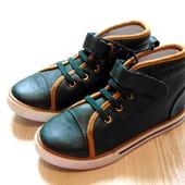 #0079. Новые шикарные демисезонные ботинки для мальчика. Pepperts. Австрия. Размер 29 (11)