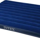 +видео! Матрас надувной для отдыха Intex Сlassic (68759)