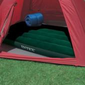 Надувной матрас, фирмы Intex 66950, цвет зеленый