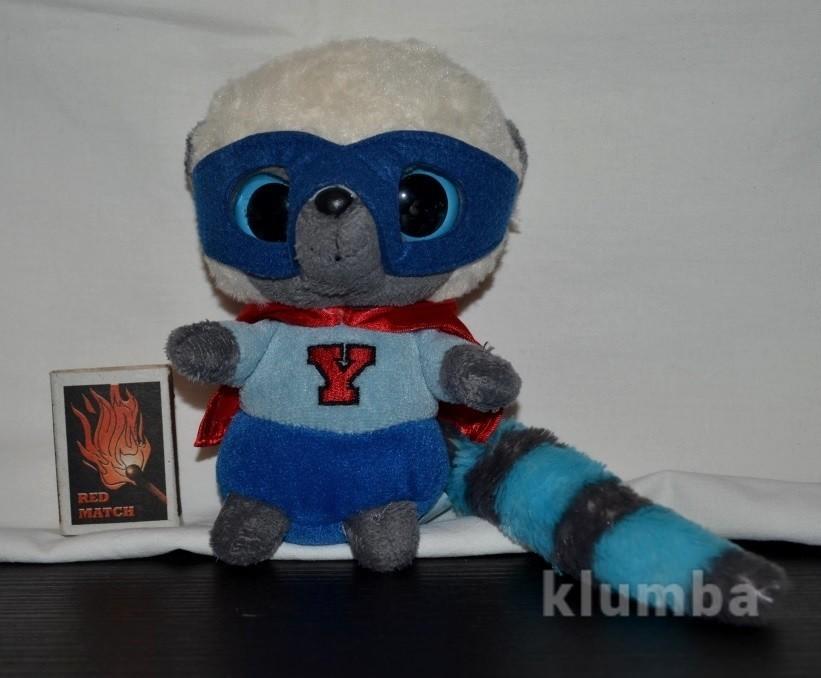 Фирменный мягкий глазастик aurora юху лемур супер герой yoohoo юху и друзья фото №1