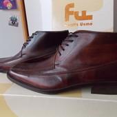 Dueffe Uomo Кожаные Прошитые Итальянские Ботинки