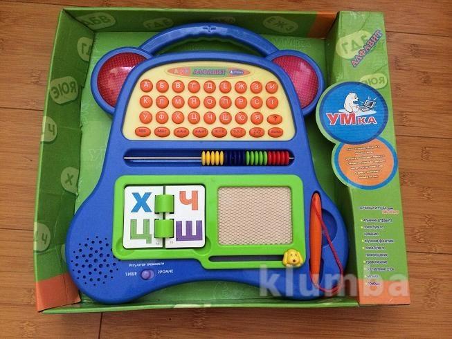 Детский игровой компьютер умка алфавит фото №1