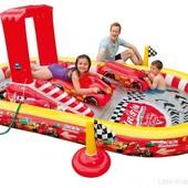 Надувной, детский, игровой центр Intex Disney Cars (57134)