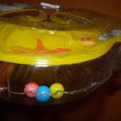 Круг для купания с ручками (на шею) 4 цвета. кулек. артикул  BT-IG-0018