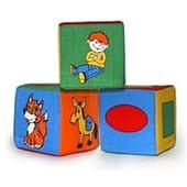 Набор мягких кубиков 3шт 125