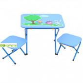 Стол с 2-мя стульчиками ommi, Смешарик, цвет Синий