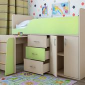 Детская кровать-чердак Снупи