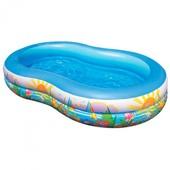 Надувной бассейн Интекс 56490 Райская лагуна