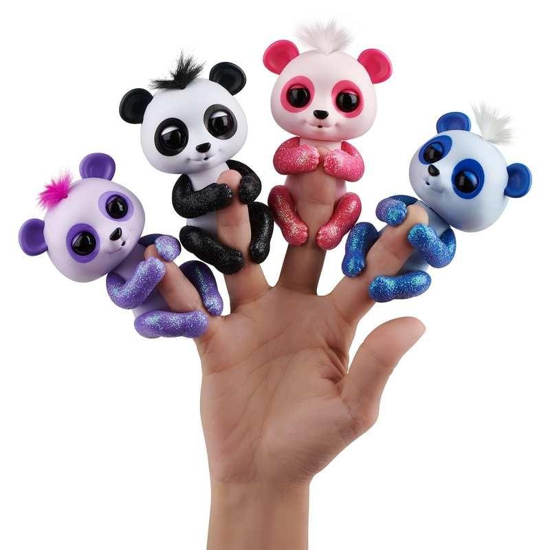 Wowwee fingerlings оригинал интерактивная ручная панда бинни дрю полли арчи пандочка фото №1
